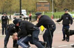 UK Police Restrain Cannabis User