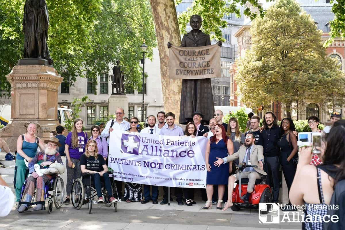 United Patients Alliance protest