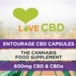 Love CBD 10mg Entourage Capsules Labelv
